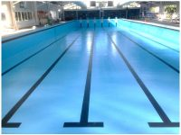Narooma Aquatic Centre was resurfaced with LUXAPOOL's Chlorinated Rubber pool paint in Pacific Blue.