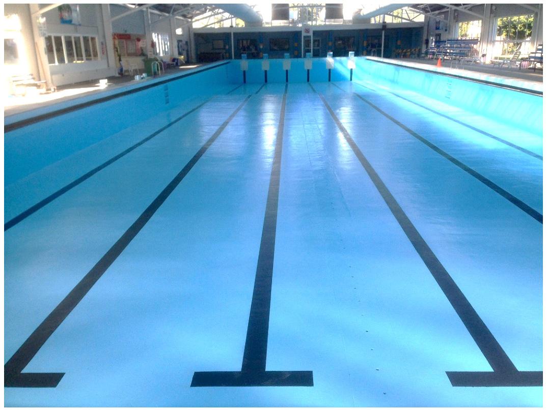 Resurfacing council pools luxapool pool paint australia 39 s leading premium pool paint for Swimming pool resurfacing sydney