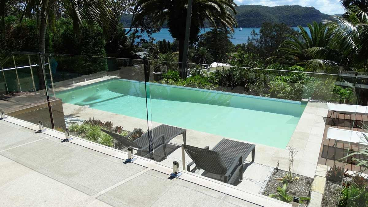 Latest pool colour trends for 2017 luxapool pool paint - Palm beach swimming pool ...