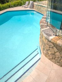Domestic pool resurface after webopt