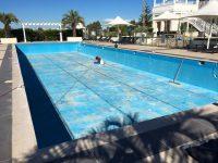 Pool painting preparations