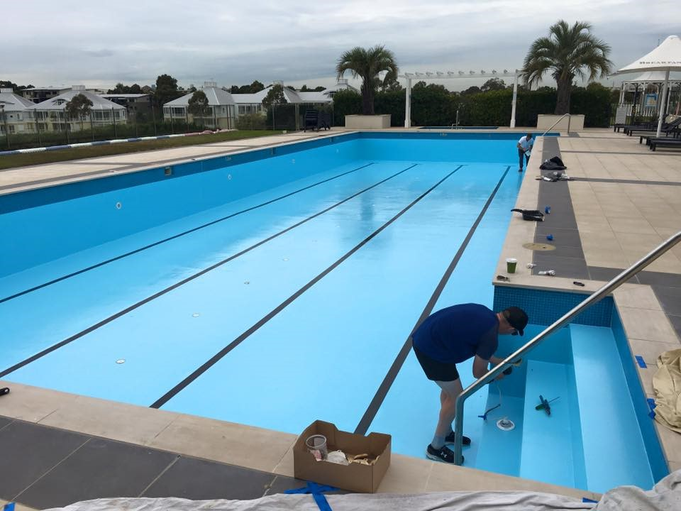 Commercial Pool Resurfacing Breakfast Point Country Club