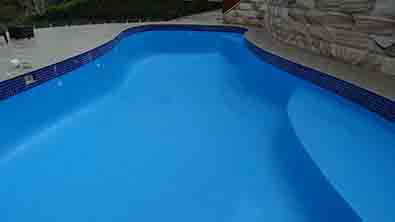 Luxapool Pool Paintdomestic Pool Painted With Luxapool Epoxy Swimming Pool Paint In Adriatic