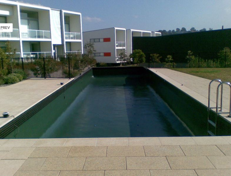 Luxapool 174 Pool Paintresort Pool Painted In Luxapool 174 Epoxy