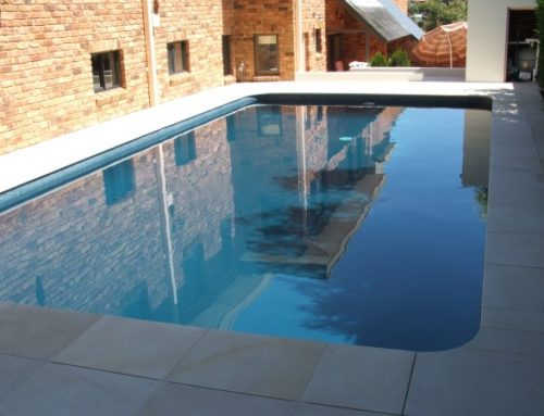 Old pool brought back to life with luxapool epoxy pool - Domestic swimming pools ...