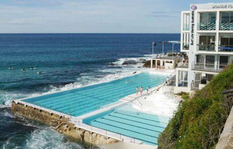 Iconic Bondi beach pool