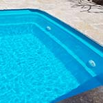 Pool painted with Luxappol Turquoise