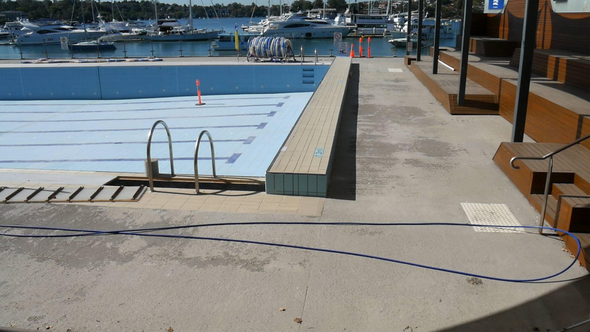 Luxapool pool paint commercial case studies for Swimming pool resurfacing sydney